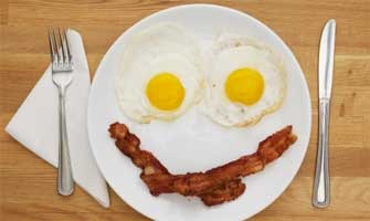 Resultado de imagen para huevos con tocino